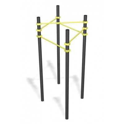 WO.13 Перекладины в треугольнике двухуровневые
